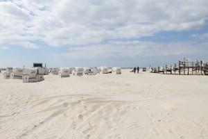 Mietbare Strandkörbe